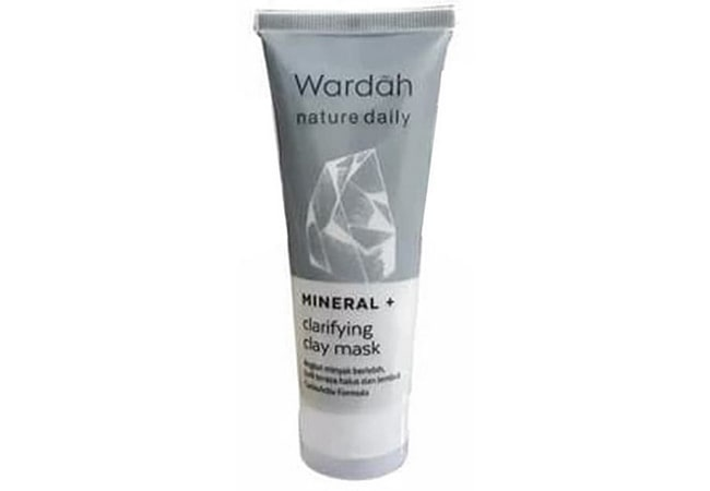 Wardah Nature Daily Mineral + Clarifying Clay Mask