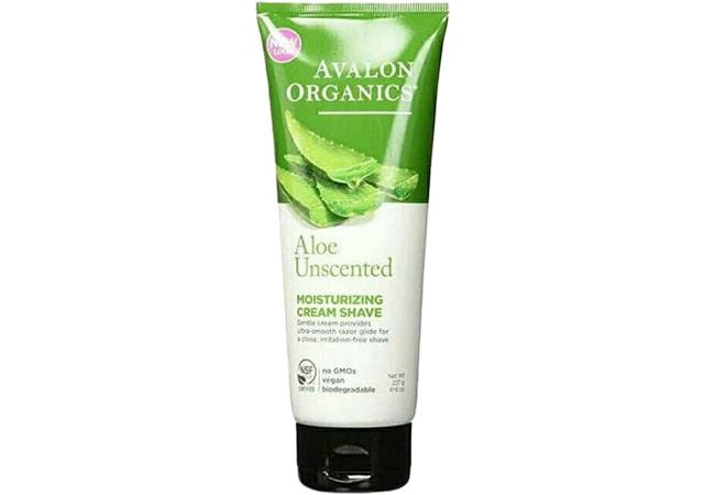 Avalon Organics Moisturizing Shave Cream Aloe Unscented