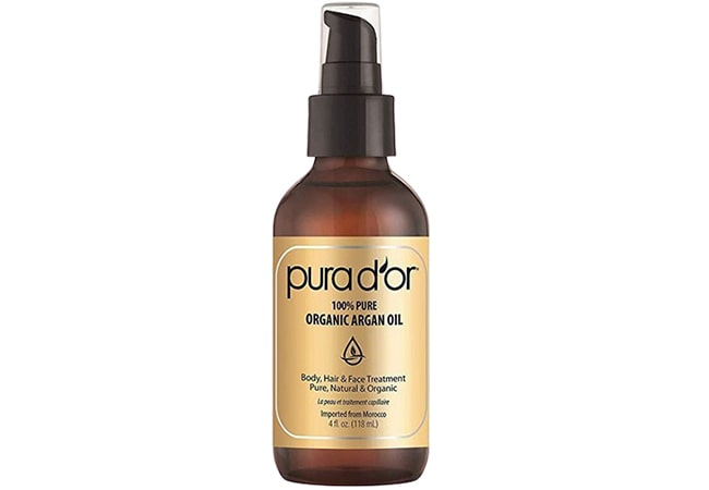 Pura Dor 100% Pure Organic Moroccan Argan Oil
