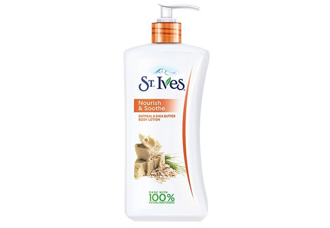 St Ives Nourish & Soothe Oatmeal & Shea Butter Body Lotion