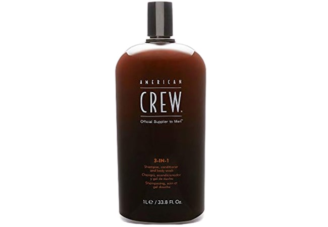 American Crew 3-In-1 Shampoo Conditioner & Bodywash