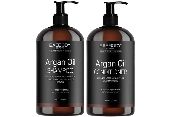 Baebody Beauty Moroccan Argan Oil Shampoo & Conditioner