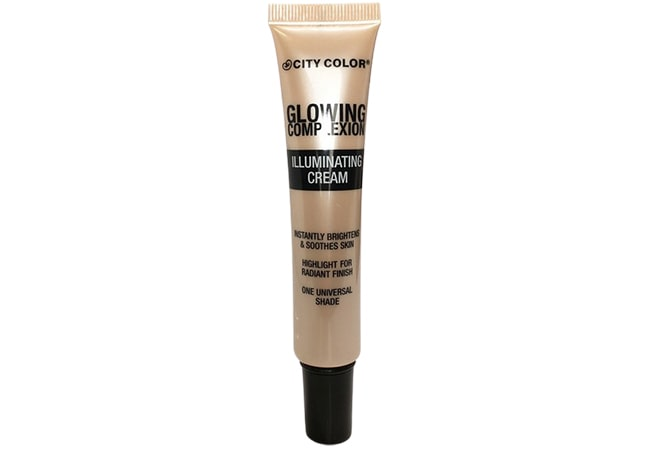 City Color Glowing Complexion Illuminating Cream, highlighter yang bagus