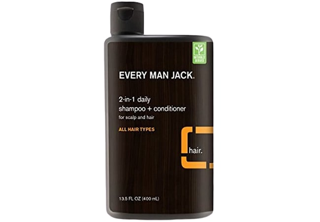 Every Man Jack Daily Shampoo for All Hair Types