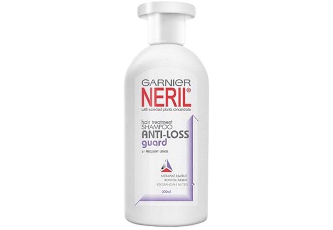 Garnier Neril Shampoo Anti Loss Guard, shampo pria untuk rambut rontok