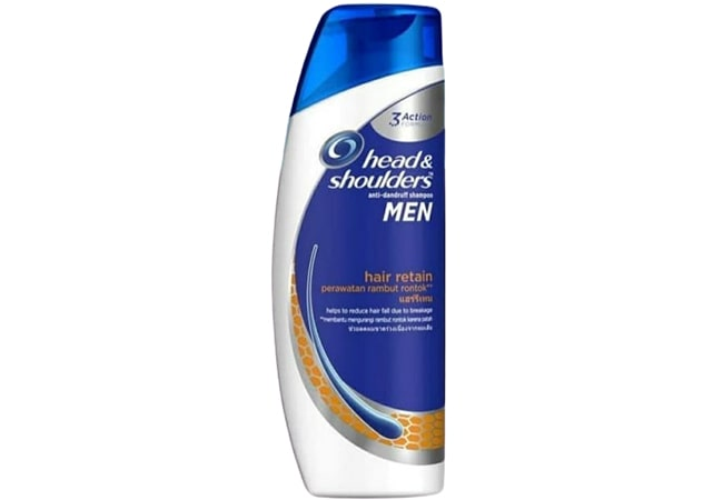 Head & Shoulders Anti-Dandruff Shampoo Men, shampo pria terbaik