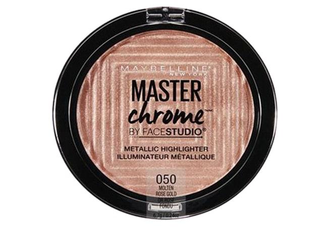 Maybelline Facestudio Master Chrome Metallic Highlighter Molten Gold