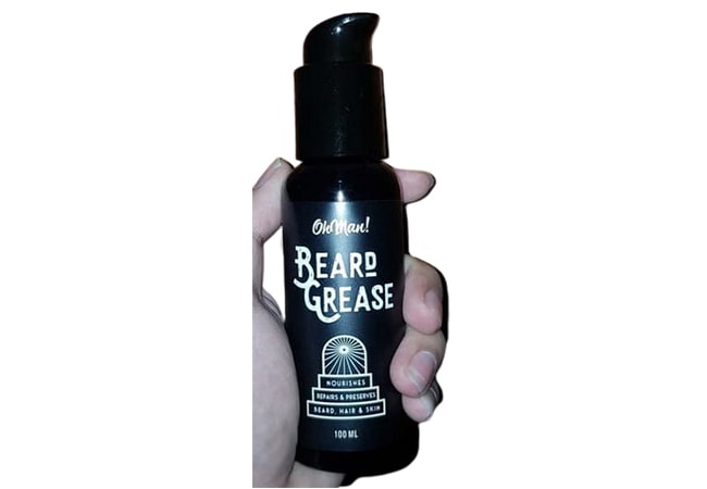 Oh Man! Pomade Daily Oil Beard Grease