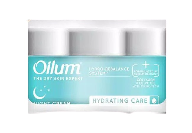 Oilum Hydrating Care Night Cream