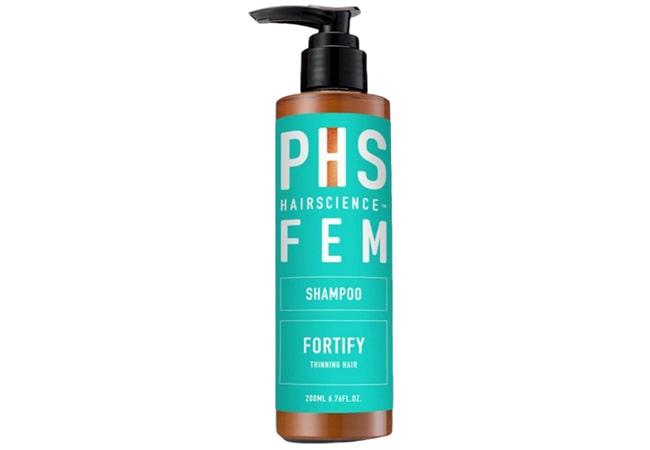 PHS Hair Science Fortify Shampoo,shampo pria untuk rambut rontok