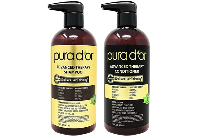 Pura Dor Advanced Theraphy Shampoo & Conditioner