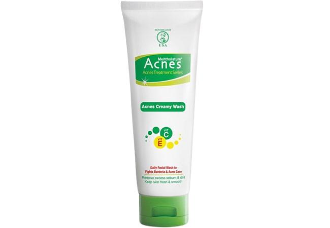 Acnes Creamy Wash, Sabun Cuci Muka Untuk Kulit Berminyak dan Berjerawat