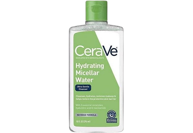 CeraVe Hydrating Micellar Cleansing Water