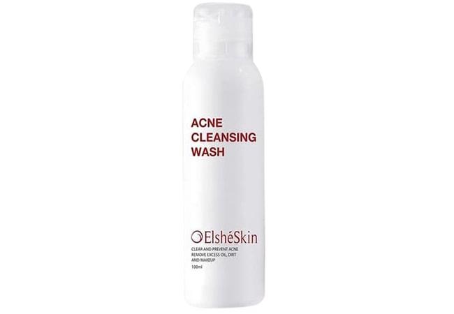 ElsheSkin Acne Cleansing Wash, Sabun Cuci Muka Untuk Kulit Berminyak dan Berjerawat