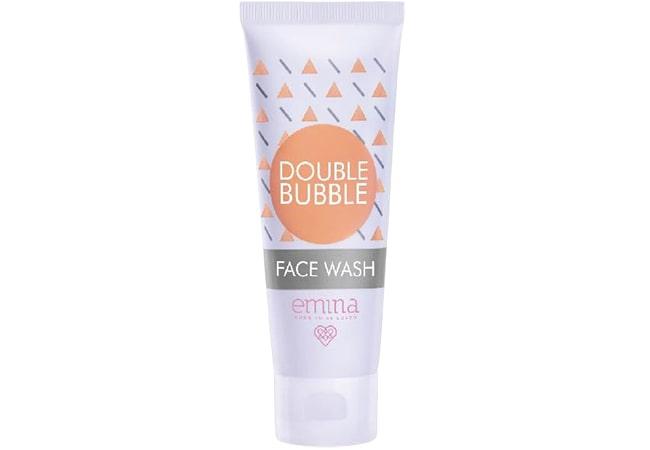 Emina Double Bubble Face Wash,face wash untuk kulit berminyak