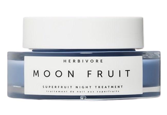 Herbivore Botanicals Moon Fruit Superfruit Night Treatment, krim malam untuk kulit sensitif