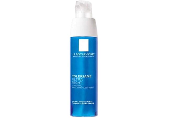 La Roche Posay Toleriane Ultra Night Cream for Sensitive Skin, krim malam untuk kulit sensitif
