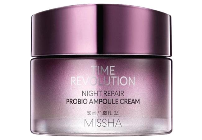 Missha Time Revolution Night Repair Probio Ampoule Cream