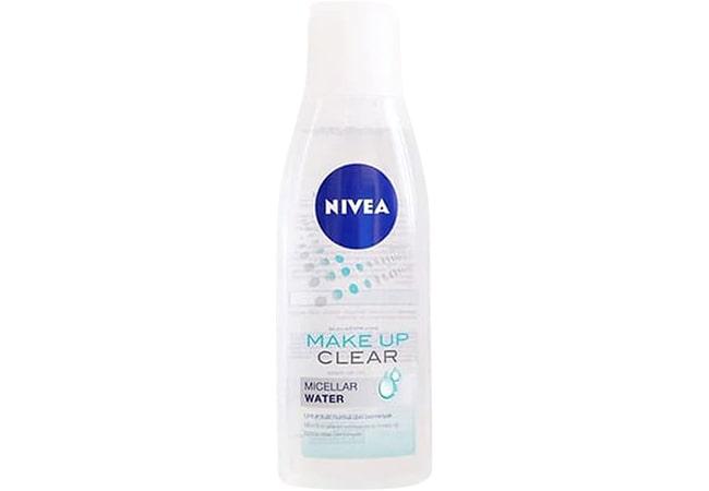Nivea Make Up Clear Micellar Water, micellar water terbaik untuk kulit berminyak