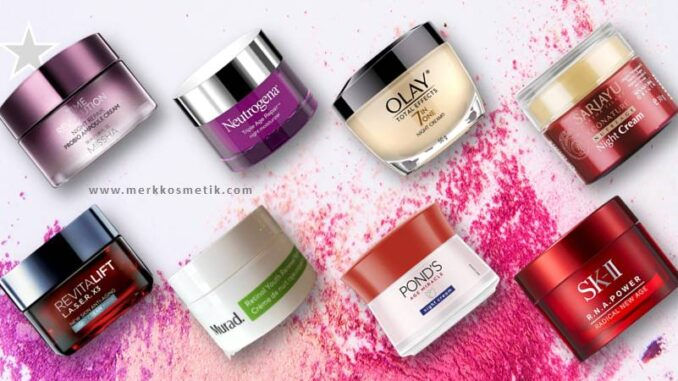 night cream anti aging terbaik