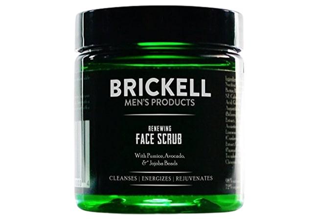 Brickell Mens Renewing Face Scrub