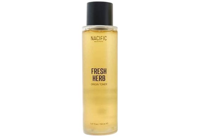 Natural Pacific Fresh Herb Origin, toner yang bagus untuk kulit kombinasi