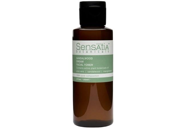 Sensatia Botanicals Sandalwood Dream Facial Toner, toner yang bagus untuk kulit kombinasi