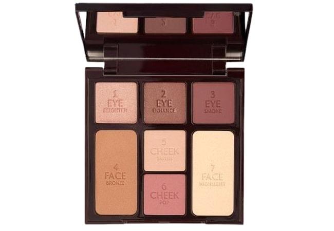 Charlotte Tilbury Instant Look in A Palette, merk blush on palette yang bagus