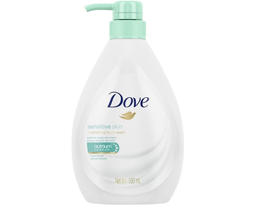 Dove Sensitive Skin Nourishing Body Wash, sabun mandi untuk kulit sensitif dan alergi