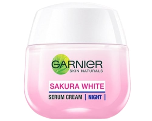 Garnier Sakura White Serum Night Cream Moisturizer