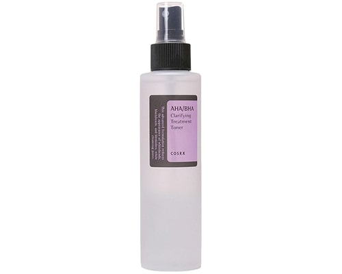 Cosrx AHABHA Clarifying Treatment Toner, exfoliating toner untuk kulit sensitif