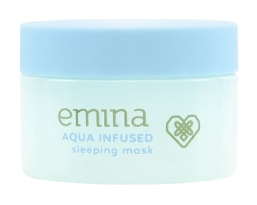 Emina Aqua Infused Sleeping Mask, Skincare Emina Untuk Kulit Berminyak