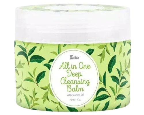 Fanbo All in One Deep Cleansing Balm (Tea Tree Oil), Cleansing Balm Untuk Kulit Berjerawat
