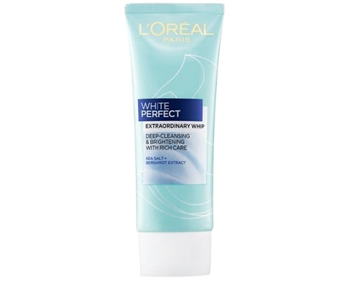 Loreal Paris White Perfect Extraordinary Whip Facial Foam