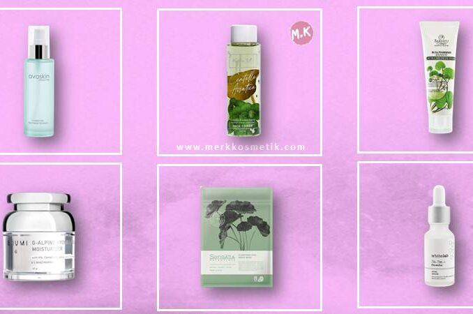 Produk Lokal Yang Mengandung Centella Asiatica