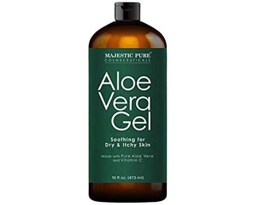 Majestic Pure Aloe Vera Gel Soothing For Dry & Itchy Skin