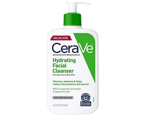 CeraVe Hydrating Face Cleanser
