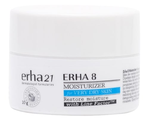 Erha21 Erha 8 Moisturizer, pelembab lokal untuk kulit kering