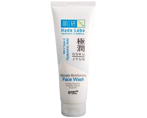 Hada Labo Gokujyun Ultimate Moisturizing Face Wash