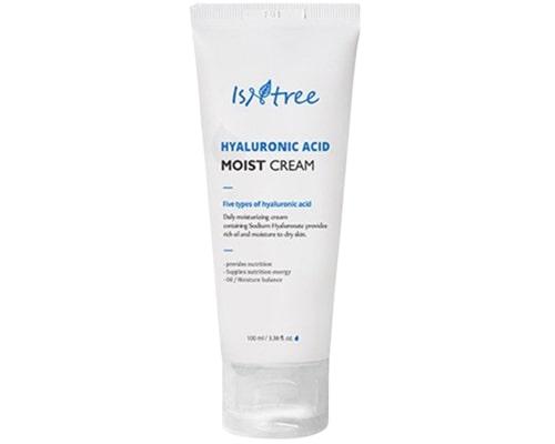 Isntree Hyaluronic Acid Moist Cream, Moisturizer Untuk Kulit Kombinasi Sensitif