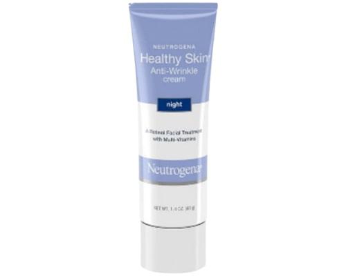 Neutrogena Healthy Skin Anti-Wrinkle Night Cream, Krim Anti Aging Untuk Kulit Berminyak