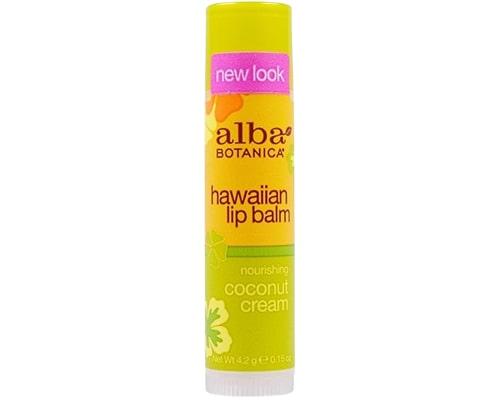 Alba Botanica Nourishing Coconut Cream Hawaiian Lip Balm