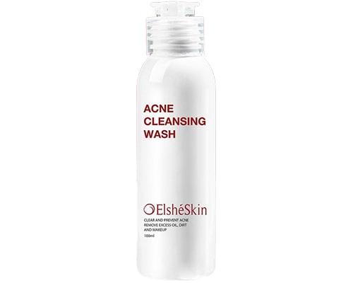 ElsheSkin Acne Cleansing Wash, Facial Wash Yang Mengandung Salicylic Acid