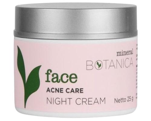 Mineral Botanica Acne Care Night Cream, Pelembab Lokal Untuk Kulit Berjerawat