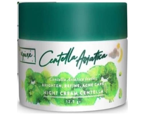 N'Pure Night Cream Centella Asiatica, Pelembab Lokal Untuk Kulit Berminyak dan Berjerawat