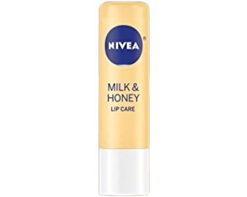 Nivea Milk & Honey Lip Balm Care