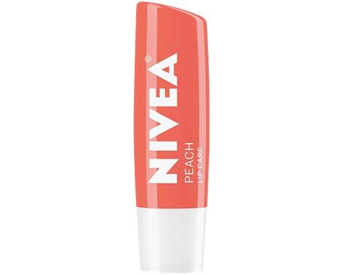 Nivea Peach Shine Lip Balm