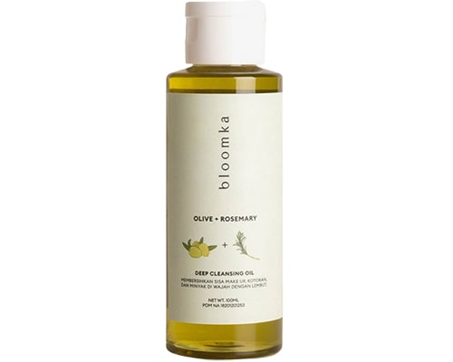 Bloomka Olive + Rosemary Cleansing Oil