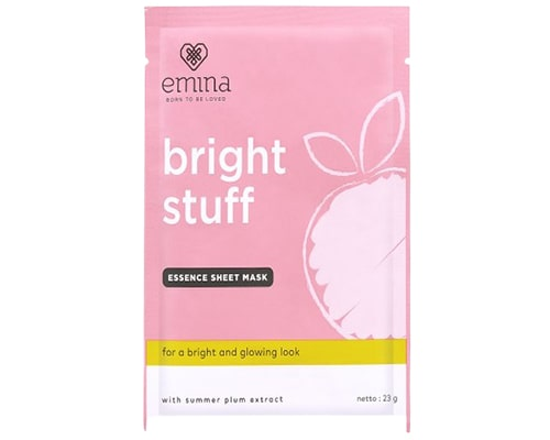 Emina Bright Stuff Essence Sheet Mask
