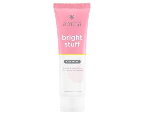 Emina Bright Stuff Face Wash, Urutan Pemakaian Skincare Emina